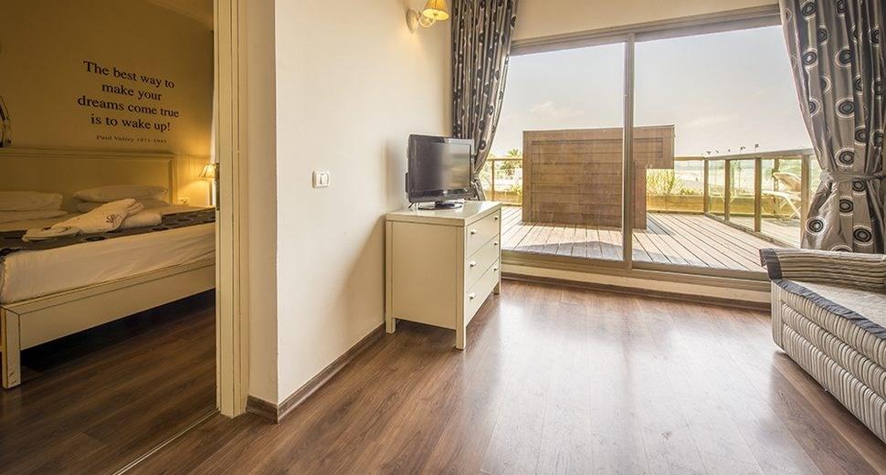 חדר שינה במלון