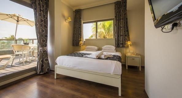 חדר שינה נוף